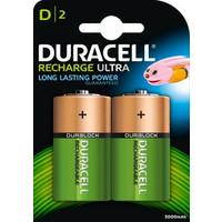 batterijen oplaadbaar type D (2 stuks)