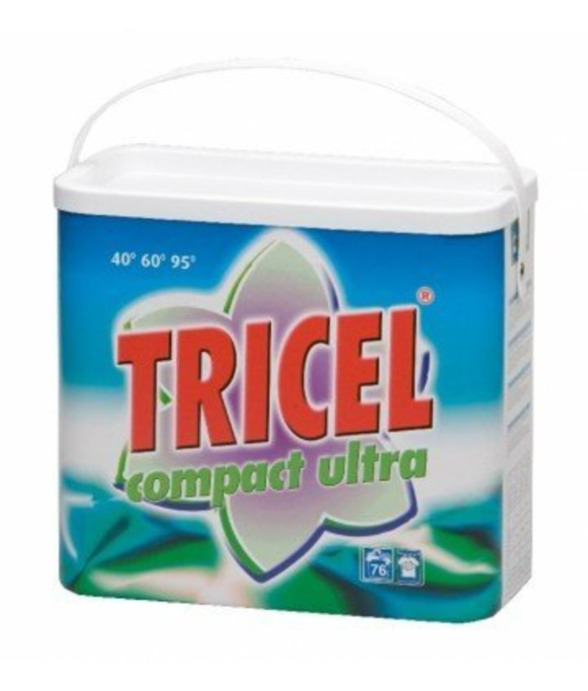 Tricel Wasmiddel Compact Ultra 5.5 kg