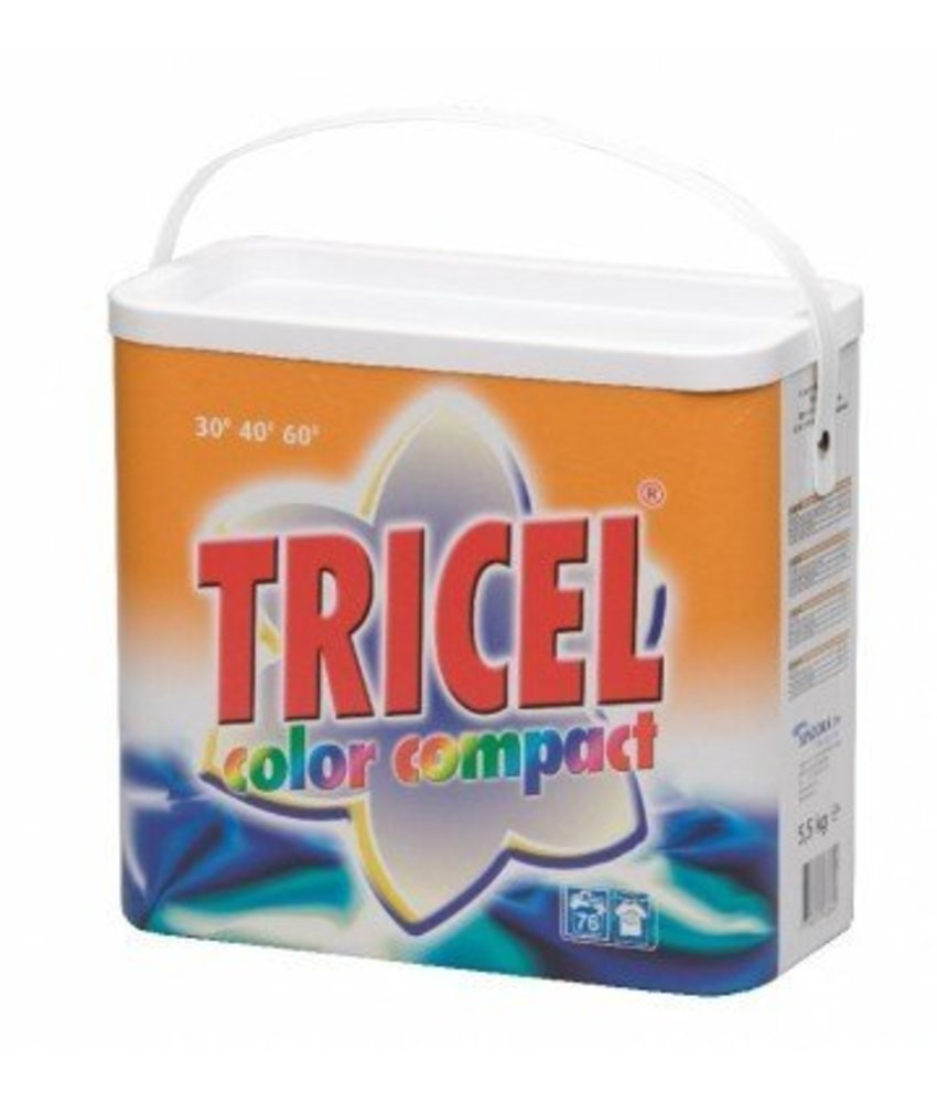 Tricel Wasmiddel Compact Color 5.5 kg