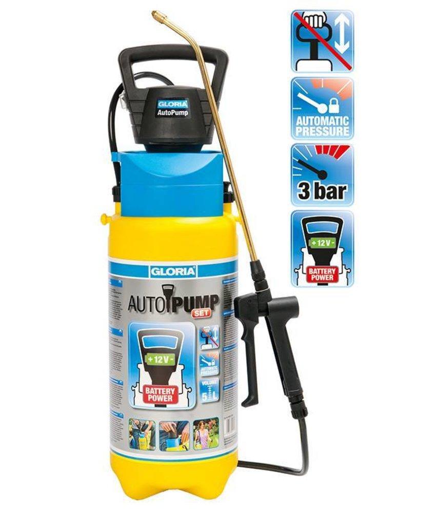 Gloria drukspuit AutoPump Easy Spray (5 liter)
