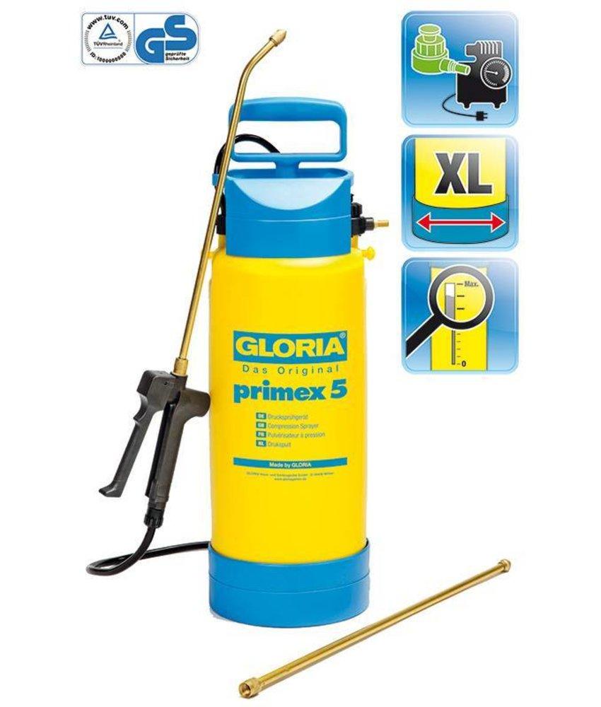 Gloria drukspuit Primex 5 (5 liter)