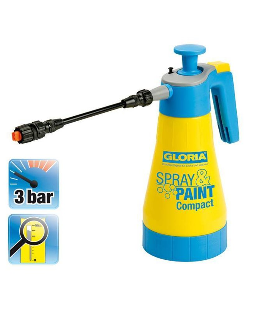 Gloria drukspuit Spray & Paint Compact (1.25 liter)