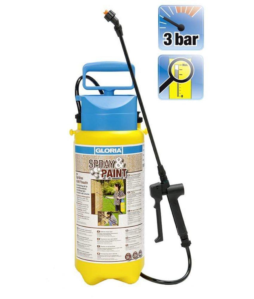 Gloria drukspuit Spray & Paint (5 liter)