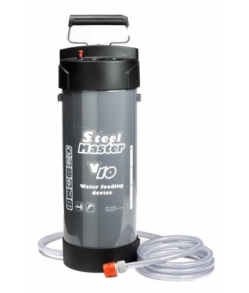 Gloria watertoevoerapparaat Steelmaster (10 liter)