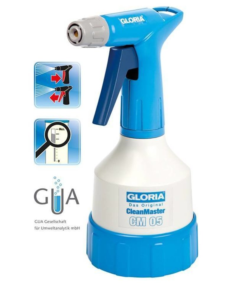 Gloria fijnsproeier CleanMaster 05 (0.5 liter)