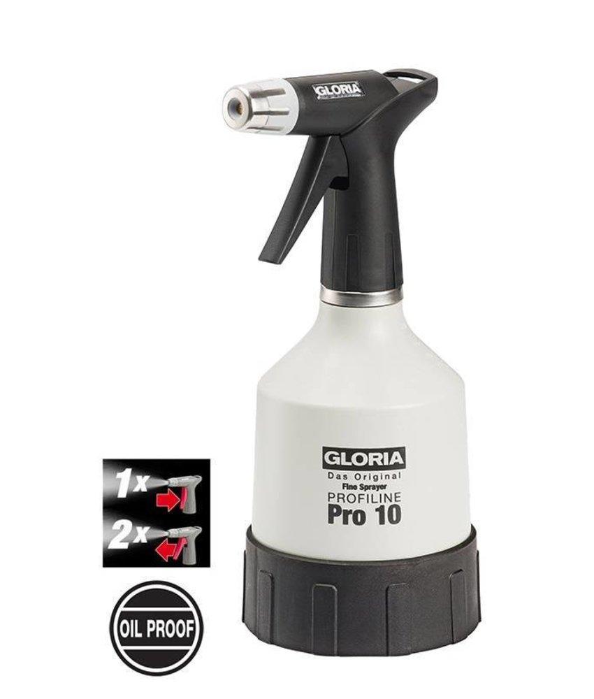 Gloria fijnsproeier oliebestendig Pro 10 (1 liter)