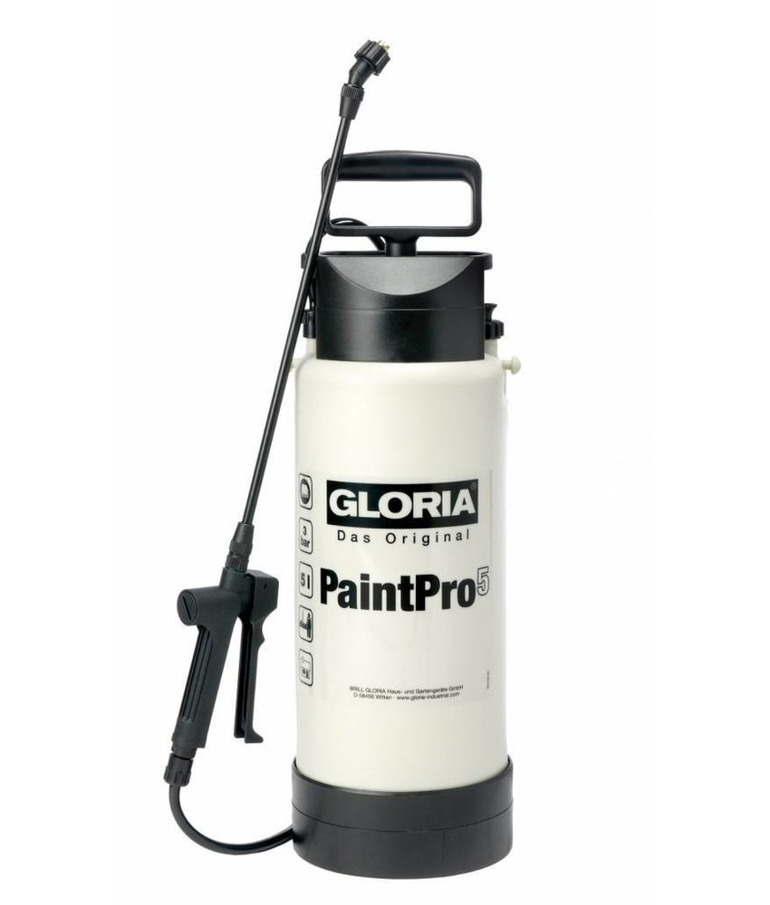 Gloria drukspuit Spray & Paint Pro (5 liter)