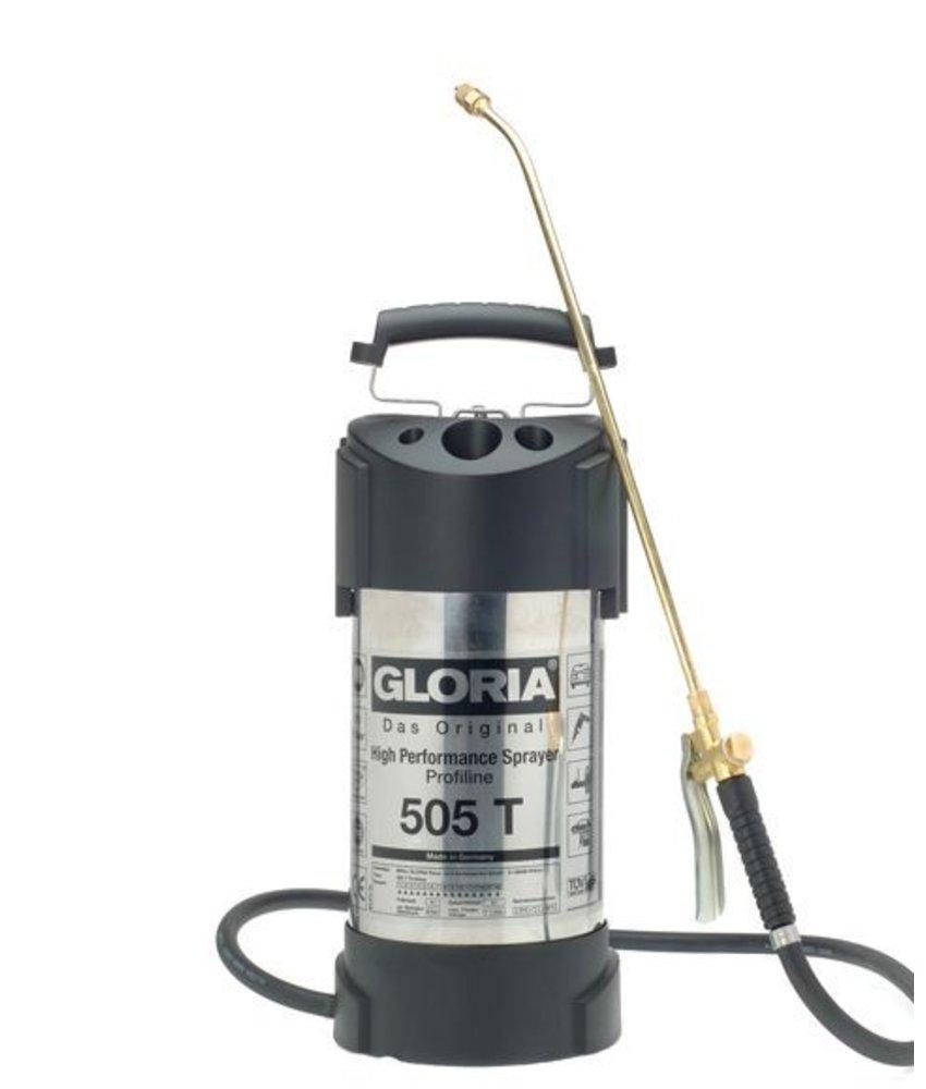Gloria hogedrukspuit RVS 505T Profiline (5 liter)