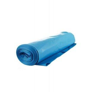 vuilniszak blauw 60 mu 70x110 (20 zakken)