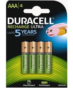 batterijen oplaadbaar type AAA (4 stuks)
