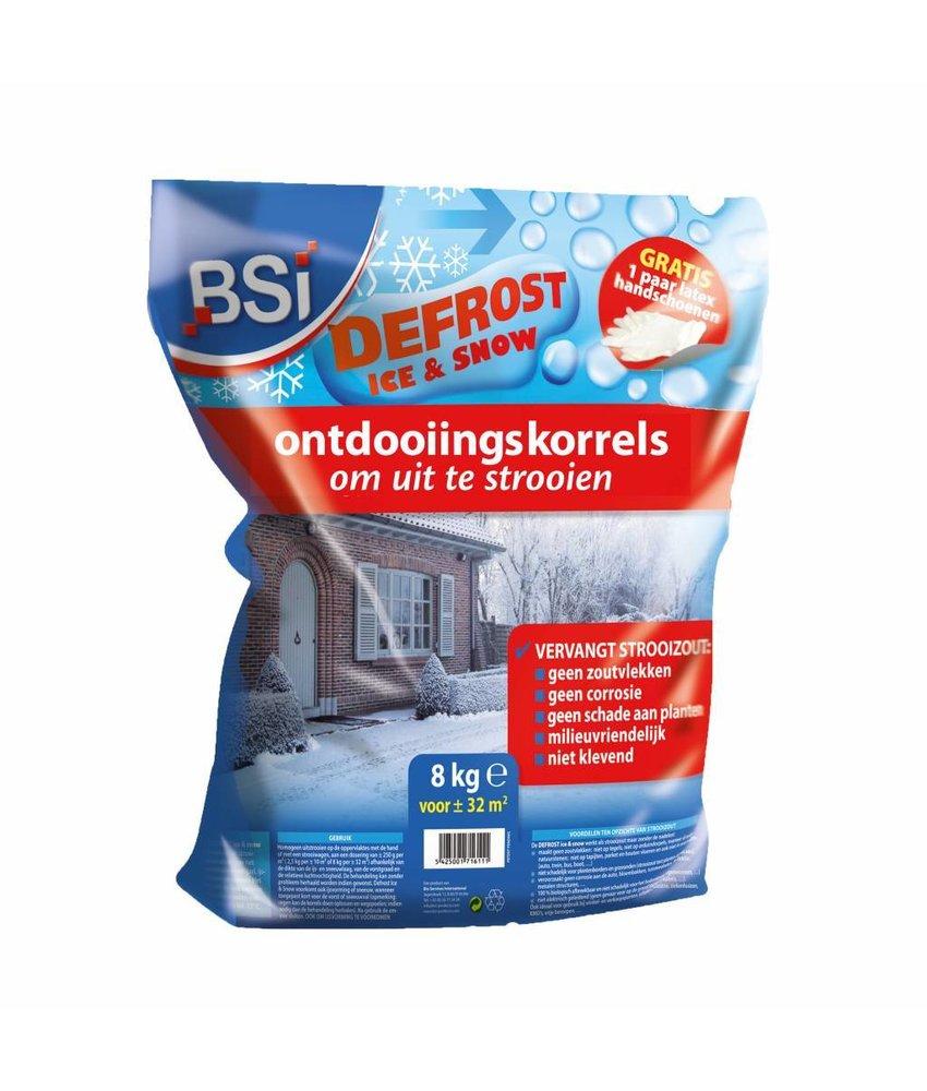 BSI ontdooiingskorrels 8 kg (32 m²)