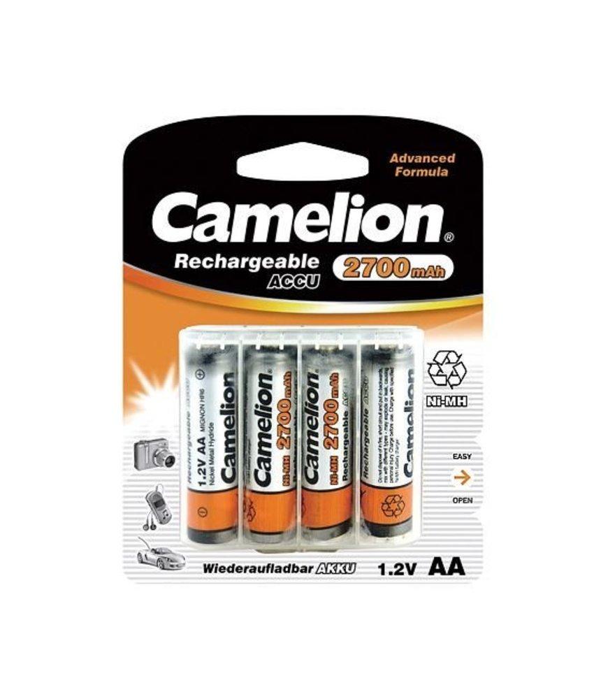 Camelion oplaadbare batterijen type AA (4 stuks)