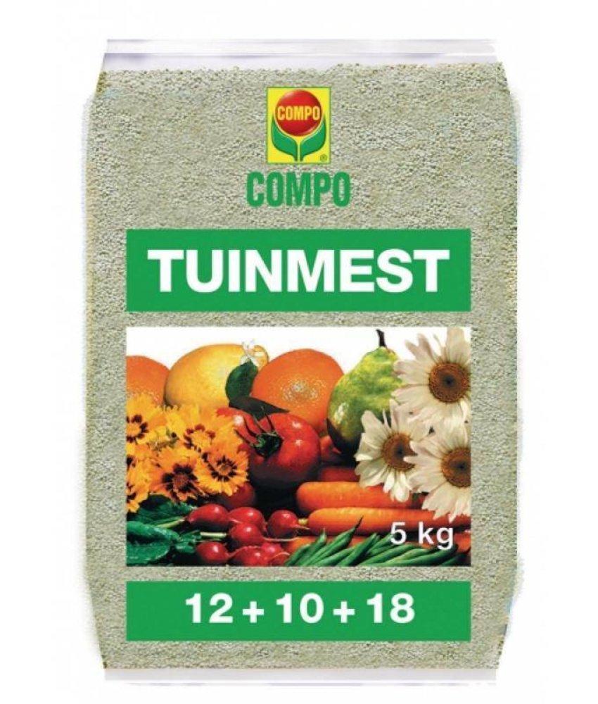 Compo Mengmeststof 12-10-18 NPK 5 kg