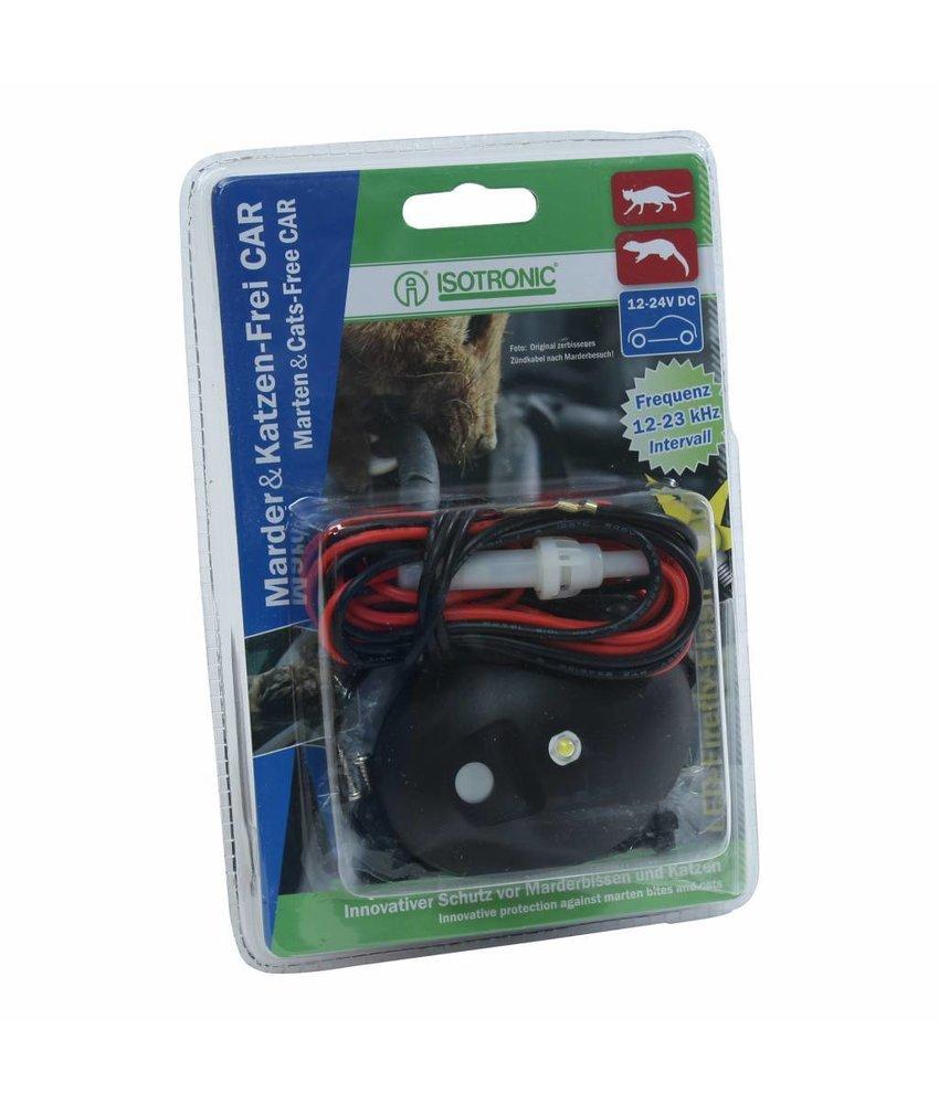 Isotronic marter- en kattenverjager LED voor auto