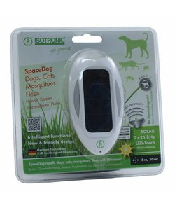 Honden -en kattenverjager Space Dog Solar