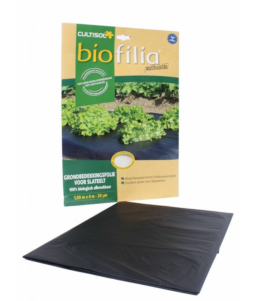Biofilia grondbedekkingsfolie voor slateelt 150x400 cm