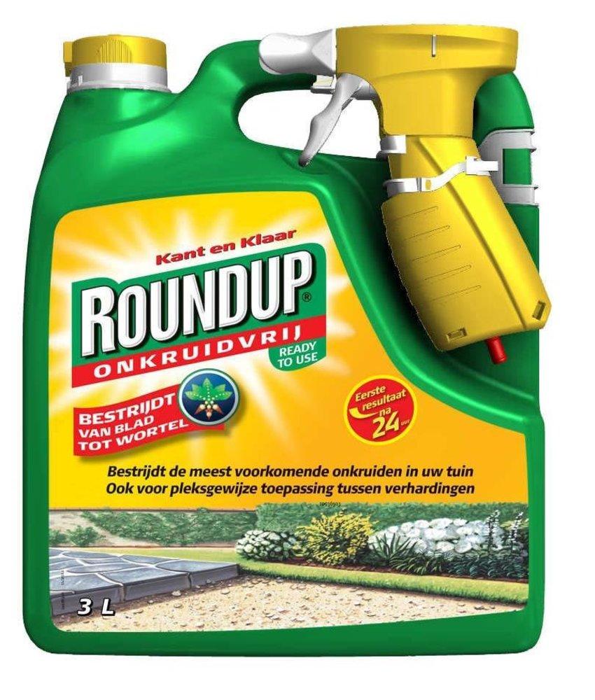Roundup kant en klaar 3000 ml (spray)