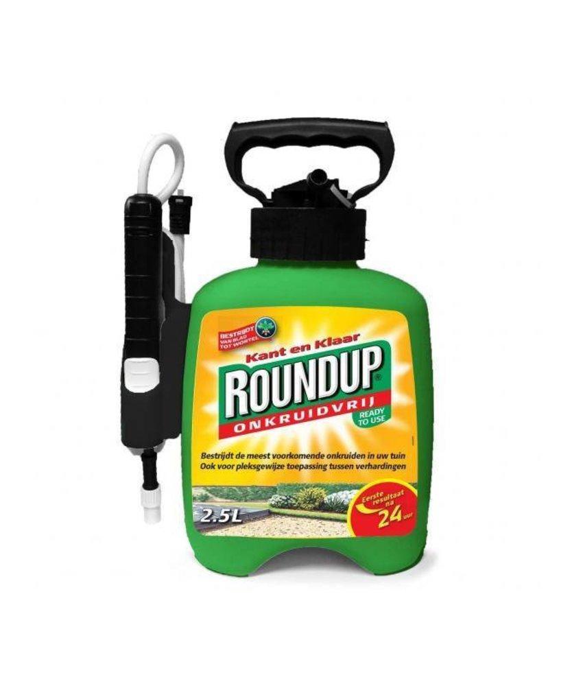 Roundup kant en klaar 2500 ml (met doseerspuit)