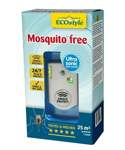 Mosquito free (tot 25 m²)