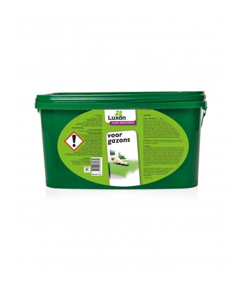 Luxan IJzersulfaat voor gazons 5 kg