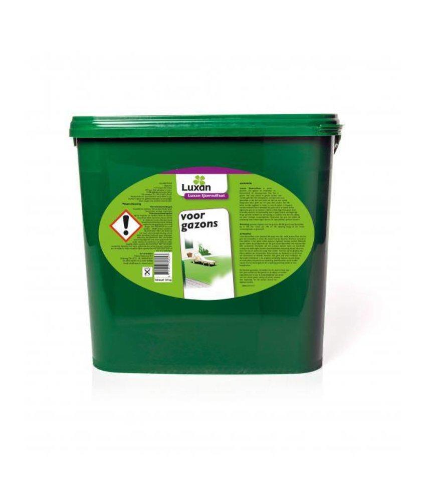 Luxan IJzersulfaat voor gazons 10 kg