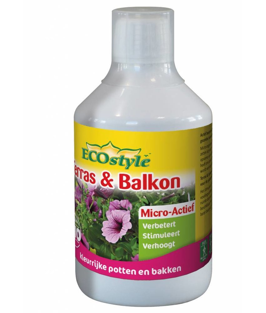 Ecostyle Terras & Balkon Micro-Actief 500 ml