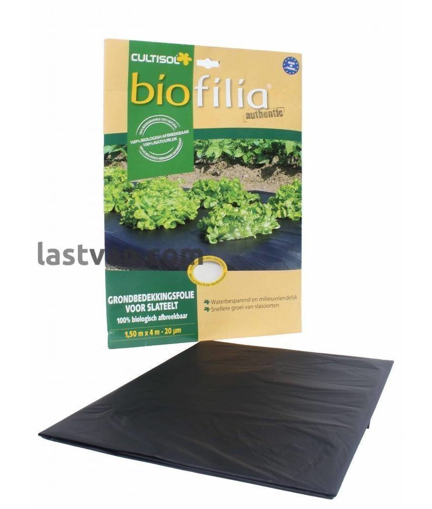 Biofilia grondbedekkingsfolie voor alle gewassen 130x400 cm