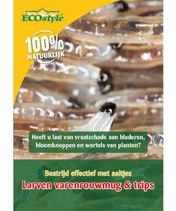 Aaltjes tegen de larven van de fruitmot (10-60 m²)