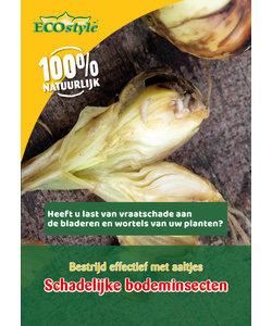 Aaltjes tegen larven wortelvlieg (60 m²)