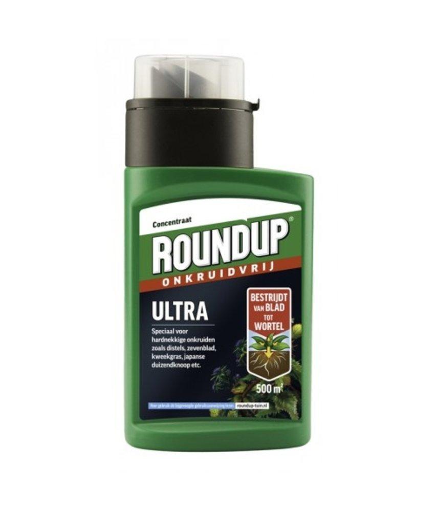 Roundup Ultra hardnekkig 250 ml (concentraat)