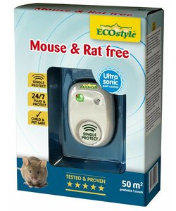 Mouse & Rat free battery (tot 50 m²)