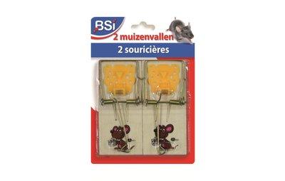 Muizenklemmen en muizenvallen