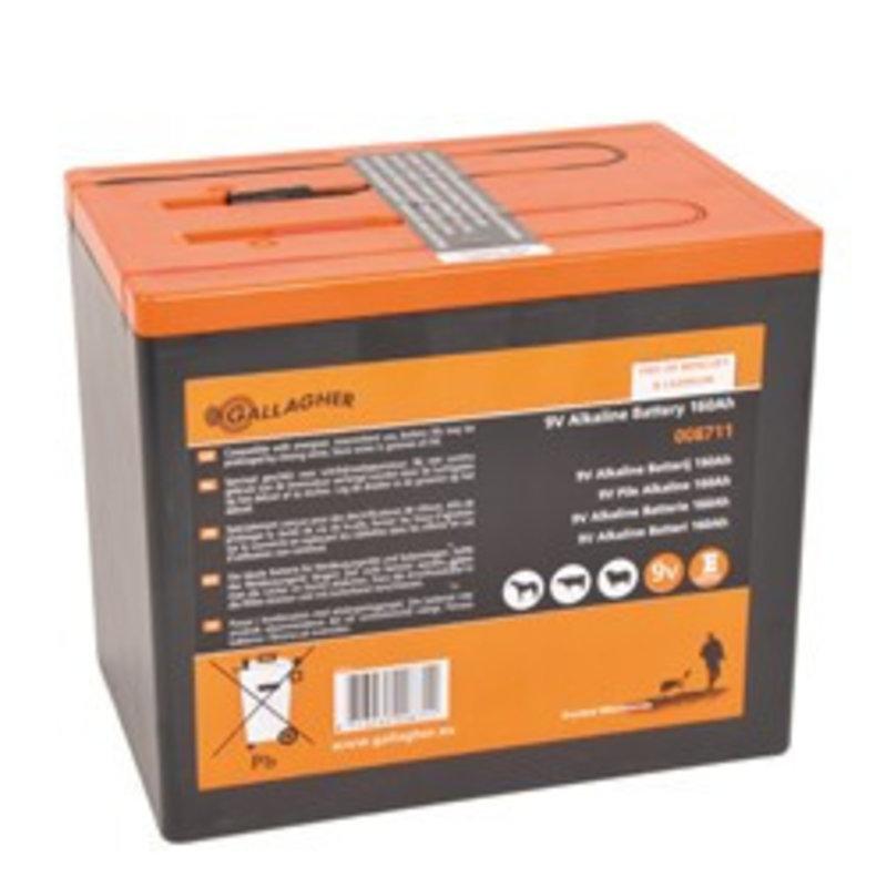 Gallagher Powerpack batterij 9V/160Ah