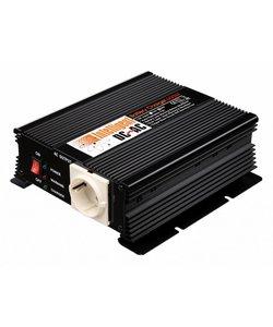 Omvormer 12V/230V, 300W back-up batterij