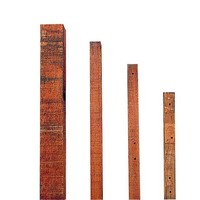Insultimber tussenpaal 3,8x3,8 cm - 1,50 m