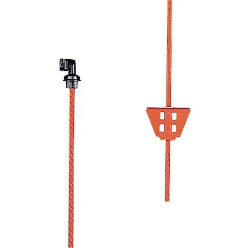 Gallagher Veerstalen paal oranje 1,00 m
