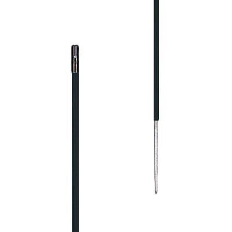 Gallagher Kunststofpaal 0,70 m zwart (10 stuks)