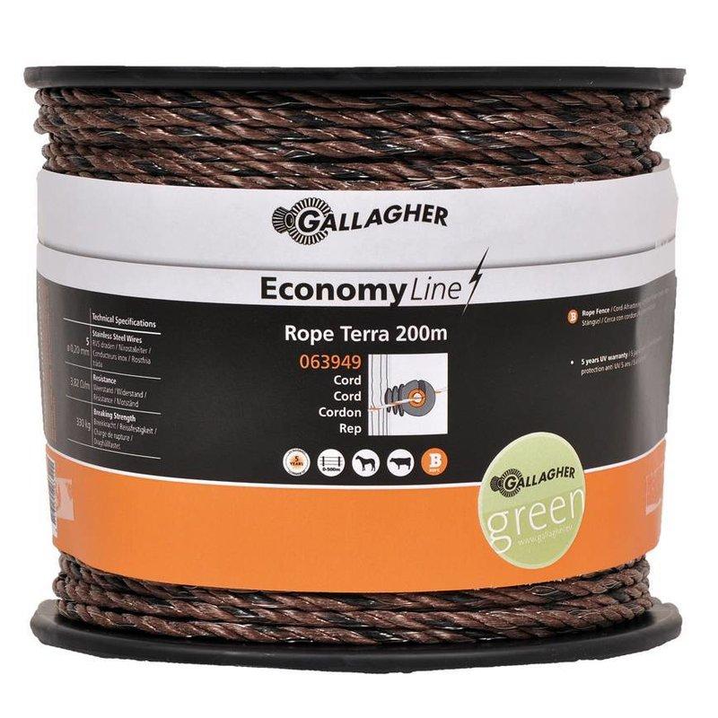 Gallagher EconomyLine cord terra 200 m