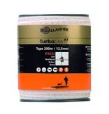 Gallagher TurboLine lint 12,5 mm wit 200 m