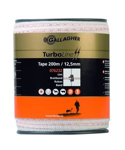 TurboLine lint 12,5 mm wit 200 m
