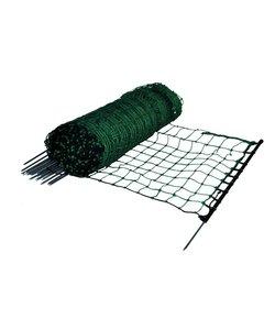 Hobbynet groen, enkele pen 65 cm