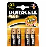Duracell Batterij Plus Power AA (4 stuks)