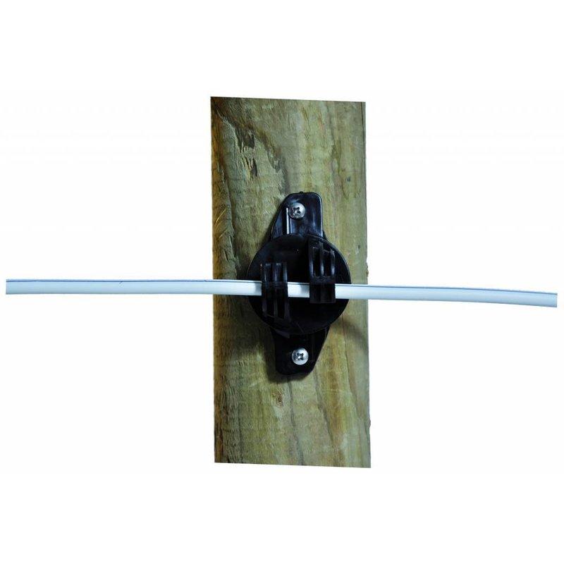 Gallagher W-isolator zwart Super 25 st