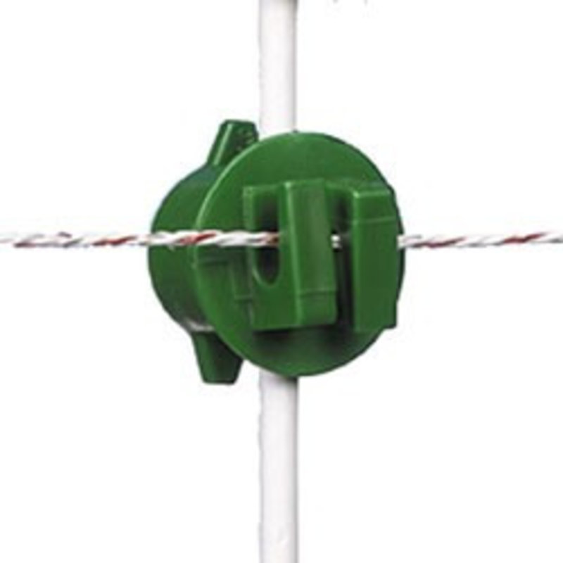 Gallagher Schroefisolator groen ø 6-14 mm 250 st