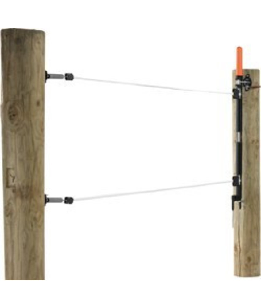 Gallagher Meerdraadse doorgangsset 2x12.5 mm lint 8 m
