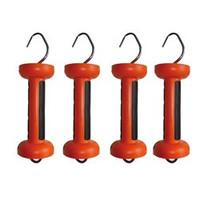 Softgrip poortgreep oranje Cord/draad 4 st