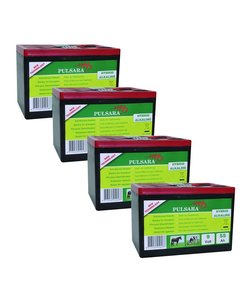 Batterij High Energy 9V/55Ah (4-pack)