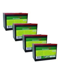 Alkaline batterij 9V/160Ah groot (4-pack)