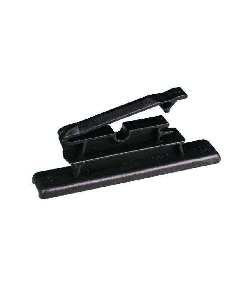 Pulsara Lintisolator zwart voor lint tot 60 mm 25 st