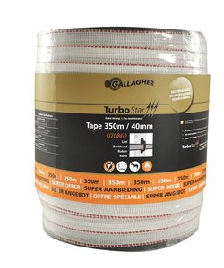 TurboStar Super lint 40 mm wit 350 m